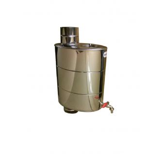 Vandens bakelis, montuojamas ant dūmtraukio vamzdžio, 22 l